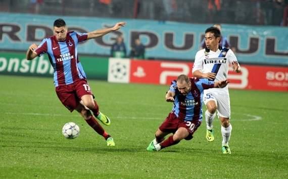 Trabzonspor 1-1 Inter Milan