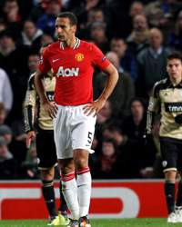 UEFA Champions League: Rio Ferdinand, Manchester United v  Benfica