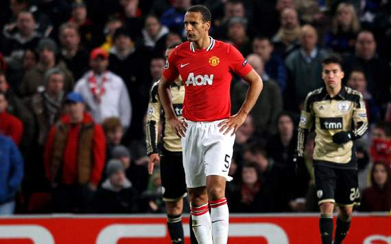 Ferdinand 'champing at the bit' for Manchester United return