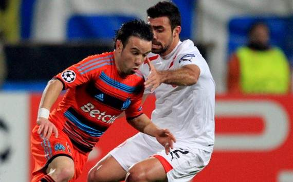 Champions League : Mathieu Valbuena vs Giannis Maniatis (Olympique de Marseille vs Olympiakos)