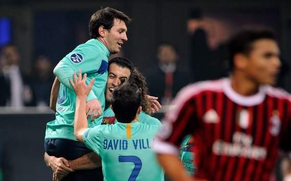 AC Milan 2-3 Barcelona