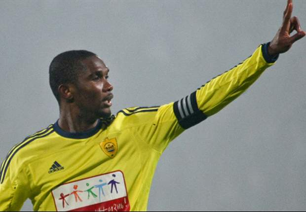 Eto'o: Joining Anzhi was to inspire African youths