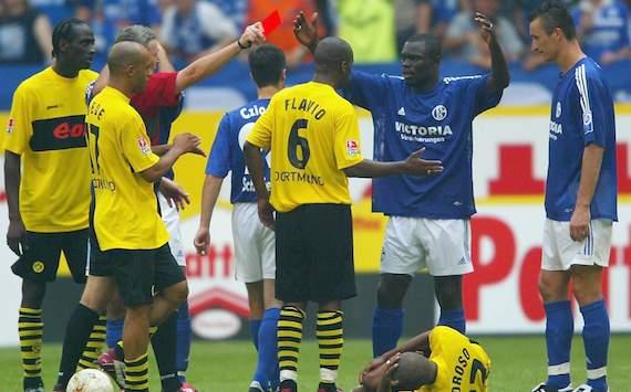 Bundesliga: FC Schalke 04 - Borussia Dortmund, Gerald Asamoah