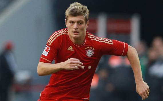 Bayerns Toni Kroos: Noch nicht am Ende meiner Entwicklung 