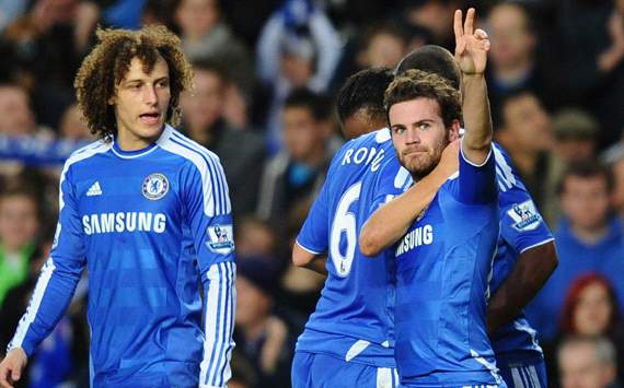 EPL: Juan Mata, Chelsea v Wolverhampton