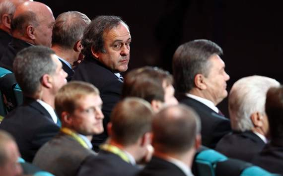 Platini: Uefa is doing everything in their power to eradicate racism from football