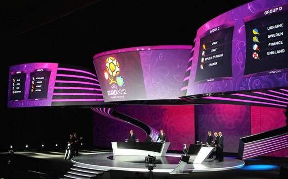 Euro 2012 draw as it happened