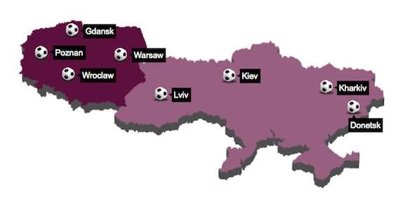 [imagetag] Peta Polandia & Ukraina Euro 2012