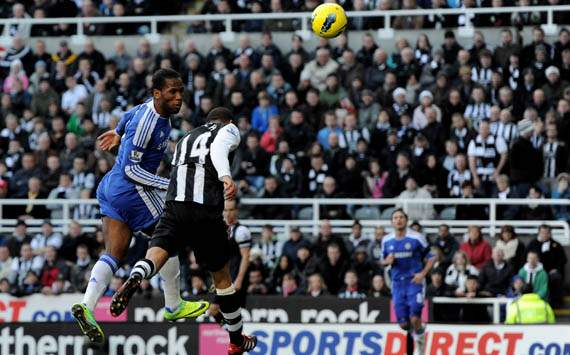EPL - Newcastle United vs Chelsea, Didier Drogba