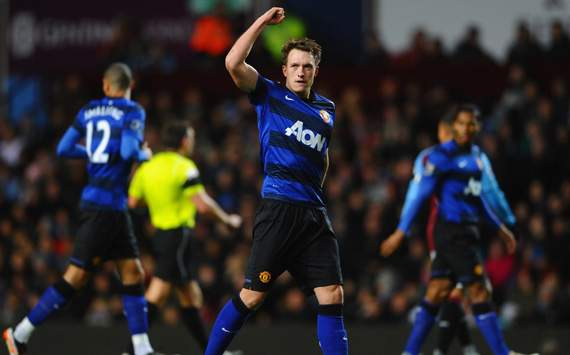 EPL,Phil Jones.,Aston Villa v Manchester United