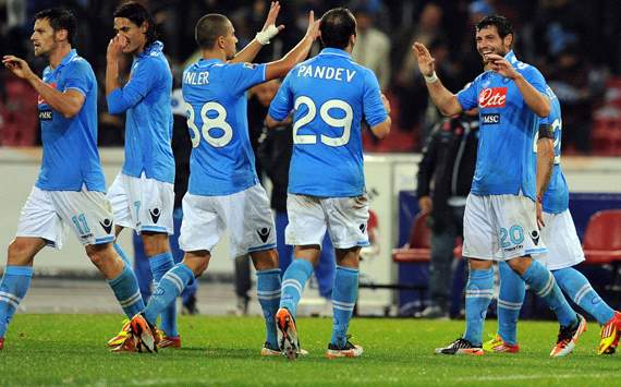 Napoli celebrating (Getty Images)