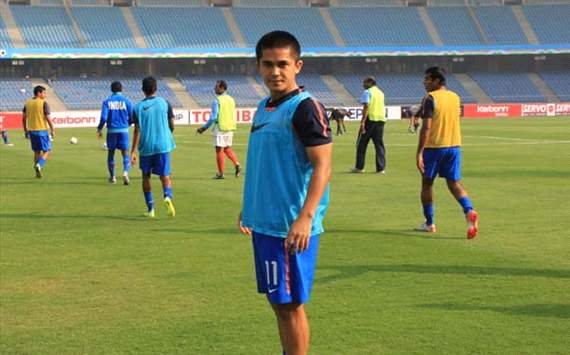 Sunil Chhetri might fail to make it into the final Nehru Cup squad