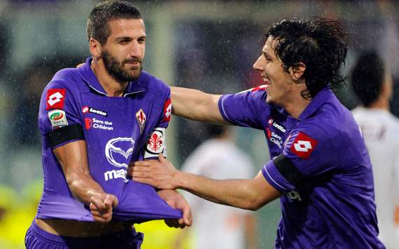 Gamberini & Jovetic - Fiorentina (Getty Images)