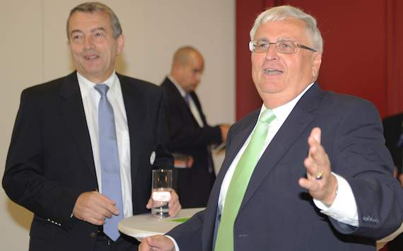 DFB: President Theo Zwanziger & General Secretary Wolfgang Niersbach