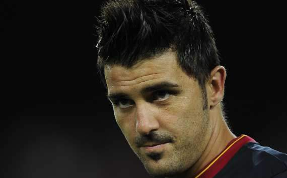 David Villa left out of Barcelona squad for Hamburg friendly