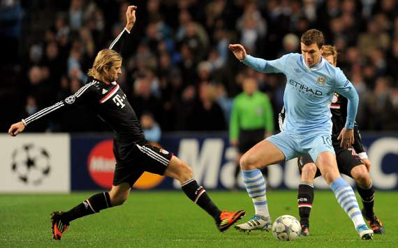 Edin Dzeko, ofrecido por su agente al Bayern de Mnich