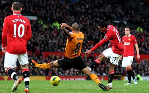 Nani, Wayne Rooney, Manchester United