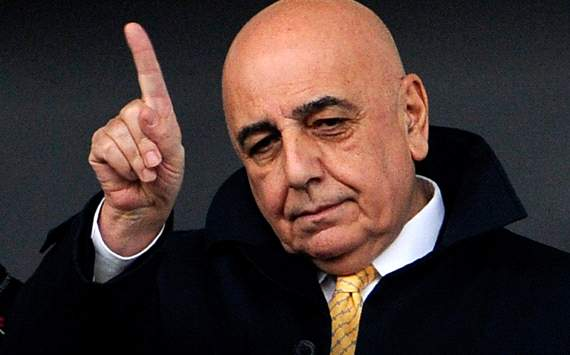 AC Milan's Adriano Galliani: We might have lost the derby, but we're still five points ahead of Inter in the table