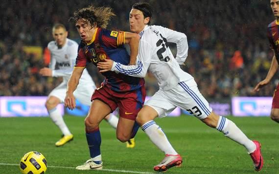 FC Barcelona vs. Real Madrid, Carles Puyol & Mesut Özil