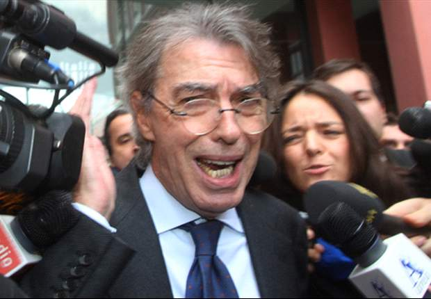 Moratti plays down Guardiola link: For the future I'm thinking only of Stramaccioni