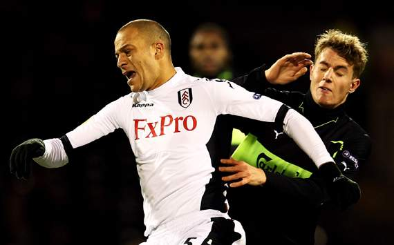 Europa League,Bobby Zamora,Fulham FC v Odense BK