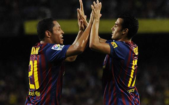 Adriano & Pedro - Barcelona (Getty Images)