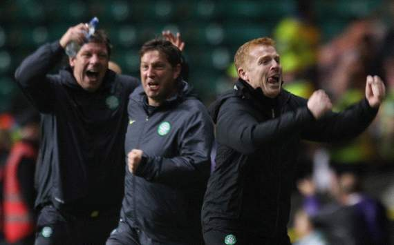 Lennon delighted with 'brilliant' Celtic