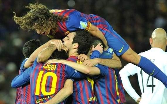 Barcelona x Santos (Shaun Boterill/FIFA)