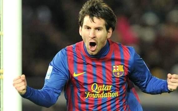 Messi - Barcelona x Santos (Shaun Boterill/FIFA)