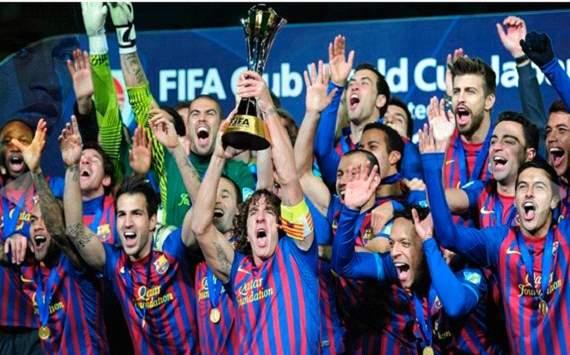 Le FC Barçelone remporte la Coupe des Clubs au Japon.