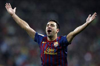 Xavi initiated the onslaught