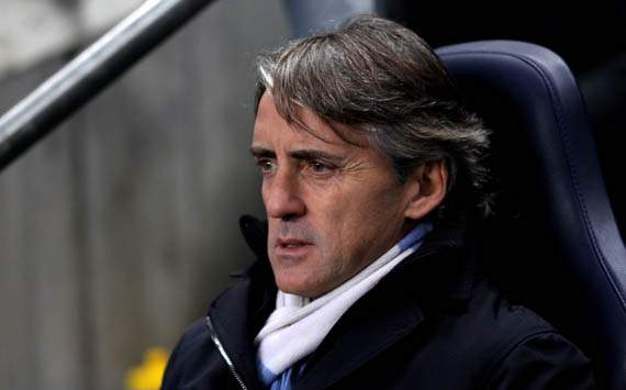 Manchester City still three or four weeks off full fitness, claims Mancini