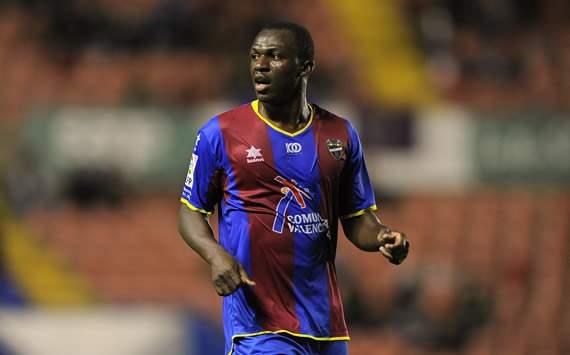 El jugador del Levante, Arouna Kone