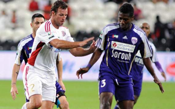 Ghana's Asamoah Gyan boosted by Al Ain fans upon return to UAE after Africa Cup of Nations spot-kick pain