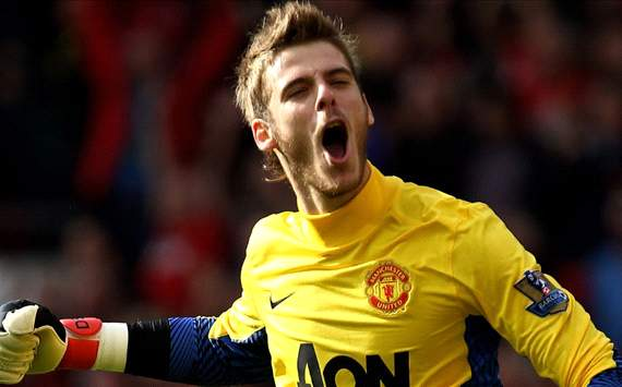 David de gea, manchester united