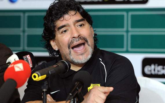 Maradona, Wasl uae