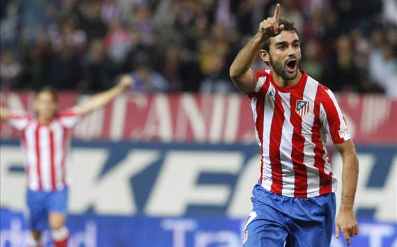 Atletico Madrid striker Adrian eyeing Spain Euro 2012 berth