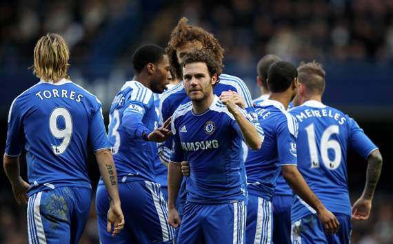 Chelsea 2012-13 Premier League fixtures in full