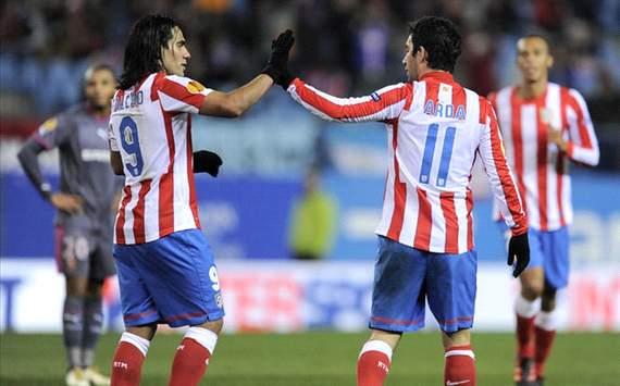 Atletico Madrid - Radamel Falcao, Arda Turan