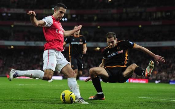 EPL,Robin Van Persie,Arsenal v Wolverhampton Wanderers