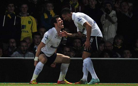 EPL: Gareth Bale - Kyle Walker, Norwich City v Tottenham