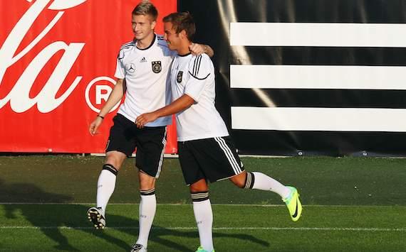 Germany, Mario Götze & Marco Reus