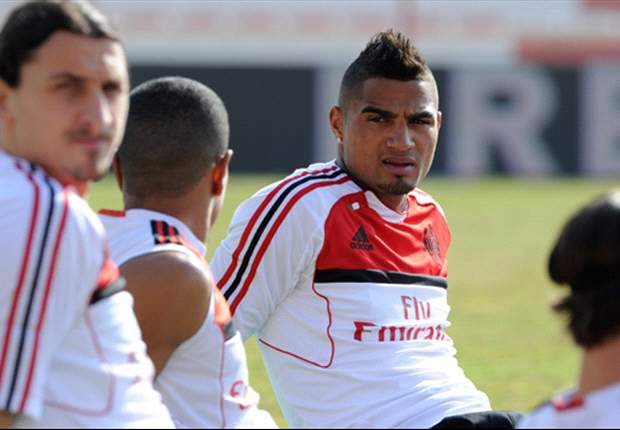 AC Milan's Kevin-Prince Boateng ruled out for four weeks through injury