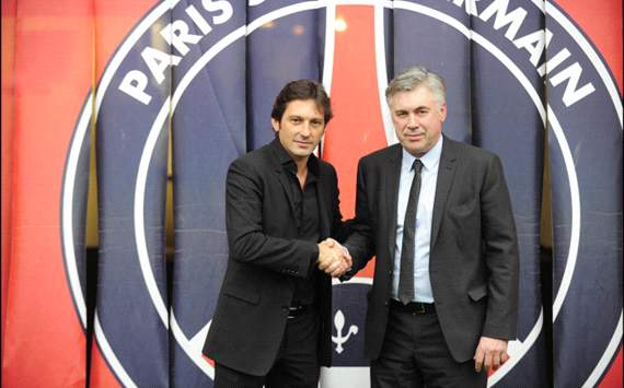 Leonardo and Carlo Ancelotti, official presentation