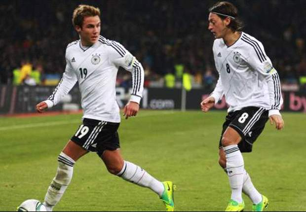 Gotze: I will repay Joachim Low's faith at Euro 2012
