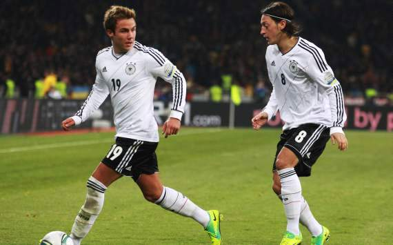 Mario Gotze: I will repay Joachim Low's faith at Euro 2012