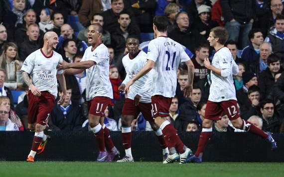 EPL: Stephen Ireland, Chelsea v Aston Villa