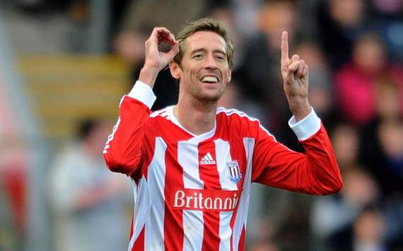 EPL,Peter Crouch,Blackburn Rovers v Stoke City