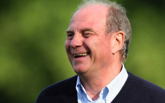 Dortmund will never catch up with our success, says Bayern president Hoeness