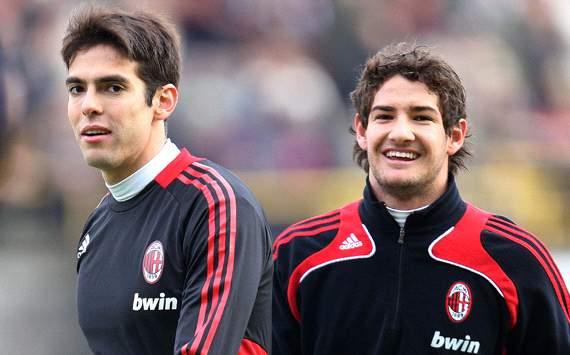 Ricardo Kakà & Alexandre Pato - Milan 2008/2009 (Getty Images)